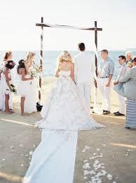 wedding arches san diego sunset cliffs wedding ceremony coreen murphy