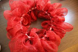 christmas mesh ribbon how to make a mesh ribbon wreath chica and jo