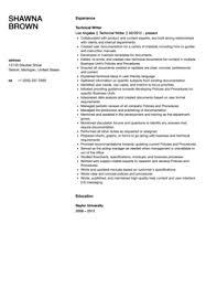 Technical Writer Resume Sample   Velvet Jobs Velvetjobs Technical Writer Resume Sample