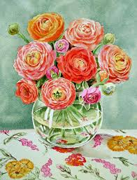 Wine Glass Flower Vase Painting Flowers On Wine Glasses Pictures Ideas Glass Painting