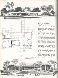 mid century modern floor plans vintage house plans 2000 square foot homes mid century homes