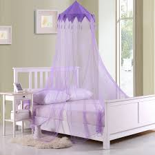 Twin Bed Canopies by Casablanca Harlequin Collapsible Hoop Kids Sheer Bed Canopy