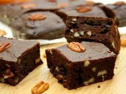 Brownies By Hervé Cuisine Http Brownies Choco Caramel Abricot Noix De Pécan Recipe Brownies