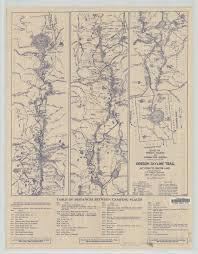 Oregon Trail Maps by Oregon Skyline Trail U2013 Trail Advocates