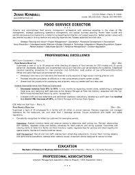 Top Management Resume Samples by Food Service Resume 20 2 Uxhandy Com