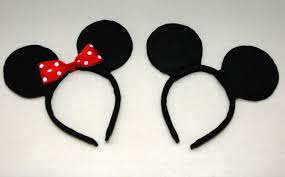 creative housewife diy mickey u0026 minnie mouse ears