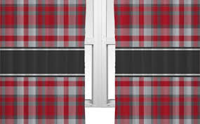 Red Blackout Blind Awe Custom Blackout Curtains Tags Grey Plaid Curtains Checkered
