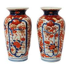 Japanese Dragon Vase Vintage U0026 Used Blue Vases Chairish