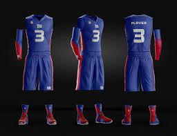 team usa basketball jersey design template