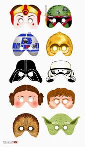 star wars free printable masks is it for parties is it free