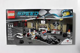 speed chions mclaren speed chions mclaren mercedes pit stop 75911 review the