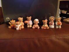 homco home interior homco home interior 14981 98 set of 2 day bears figurines