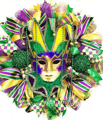 mardi gras deco mesh mardi gras wreath mardi gras deco mesh wreath tuesday wreath