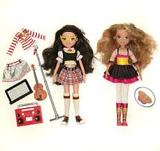 Moxie Girlz 2 Rock Star Student Dollpack Lot Doll Ebay