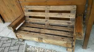 canapé en bois de palette canap banquette bois best stunning canap en bois de palette
