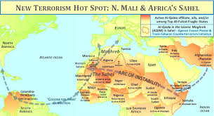 Sahel Desert Map Morocco On The Move Terrorism In Some African Nations May Keep