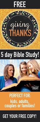 free thanksgiving bible study for adults and children
