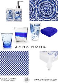 zara home blue and white collection accessories objects