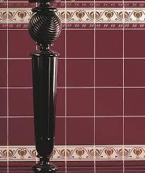 mh burgundy plain 15x15 tile topps tiles