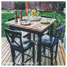 high top table and stools outdoor high top table and chairs ciscoskys info