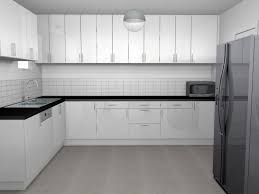 cuisine moderne blanc laqué décoration douce et apaisante mh déco cuisine moderne blanc