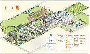 San Diego State Campus Map by Campus U0026 Directions Jesuit High