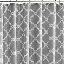 Silver And White Shower Curtain Shower Curtains Shower Curtains For Bed U0026 Bath Jcpenney