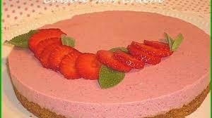 cuisine sans cuisson bavarois aux fraises sans cuisson sur speculoos recette par