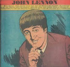 biography of john lennon in the beatles scans daily beatles biography comic john lennon