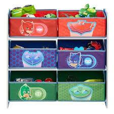 meuble de rangement pour chambre pyjamasques meuble de rangement pour chambre d enfant avec 6 bacs