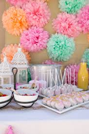 Mother S Day Decorations For Mother U0027s Day Party Decorations You Can Use Tissue Paper Pom