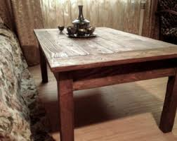 Rustic Coffee Tables And End Tables Rustic Coffee Table Etsy