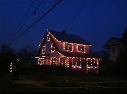 Christmas Lights On House by Old Fashioned Christmas Lights Long Island Daily Photo Lily