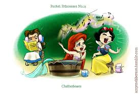 funny disney pocket princesses comics u2014 geektyrant