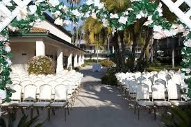 outdoor wedding venues san diego affordable san diego wedding venues wedding packages at the