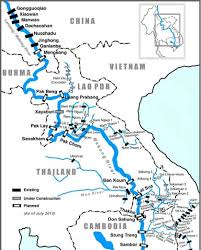 Map Of China Rivers by Thousands Sign Petition Against Mekong Dam Construction Society