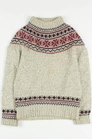 vintage fair isle sweater 96 ragstock