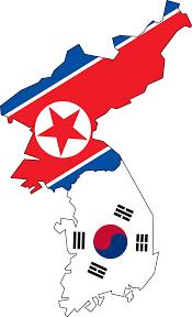 Korea Map Asia by Clipart North U0026 South Korea Flag Map No Jeju