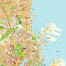 copenhagen denmark tourist map copenhagen denmark u2022 mappery