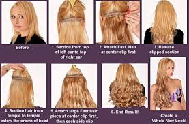 best clip in hair extensions layered clip in 23