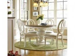 Two Tone Pedestal Dining Table Paula Deen Pedestal Dining Table Foter