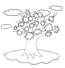 Coloriage de arbre étoilé  Tête à modeler