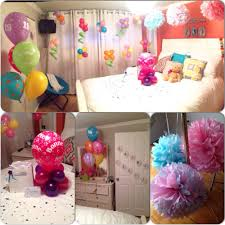 room decoration as a surprise for my best friend u0027s birthday