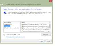 android adb driver which version of adb interface for android nexus 7 2013 stack