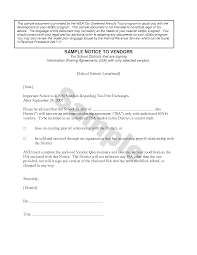 Sample Termination Notice by How To Write A Termination Letter Vendor Cover Letter Templates