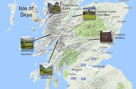 World Map Scotland by Driving To The Isle Of Skye Scotland Earth Trekkers