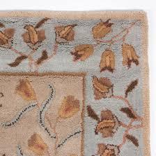 Rug 5x8 Beautiful Royal Traditional Wool Area Rug 5x8 Hand Tufted Beige