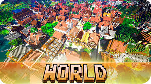 World Of Keralis Map by Minecraft The Great Medieval World Cinematic U0026 Download Map