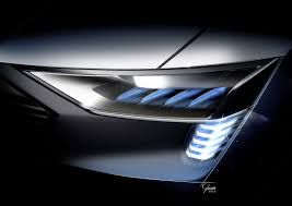 Audi Q5 Headlight - audi e tron quattro concept u2013 headlight with e tron light