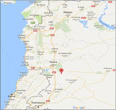 Syria Map Location by So It Begins Trump Unleashes Cruise Missiles Against Syria